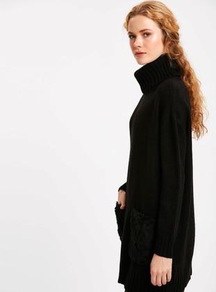 Tunik - Siyah - LC WAIKIKI Ürün Resmi