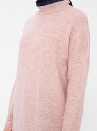 Powder - Polo neck - Cotton -  - Tunic