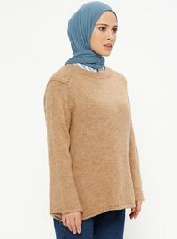 Camel - Crew neck - Acrylic -  - Jumper