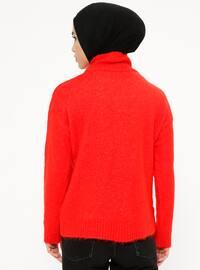 Coral - Polo neck - Acrylic -  - Jumper