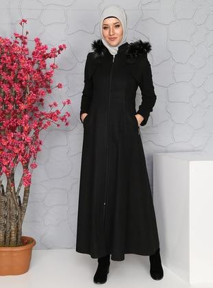 Black - Coat - BÜRÜN