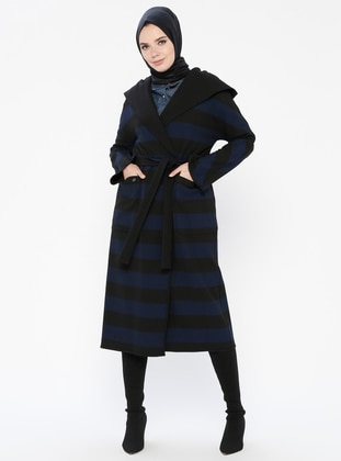 Saxe - Stripe - Coat