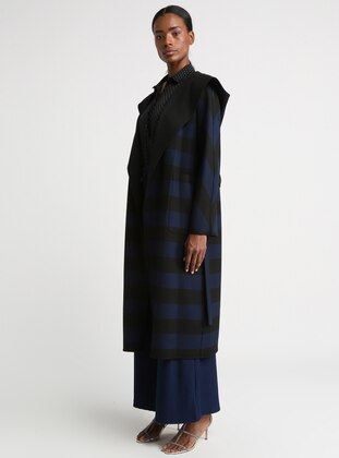 Saxe - Stripe - Coat