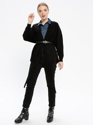 Black - Acrylic -  - Knitwear - REPP