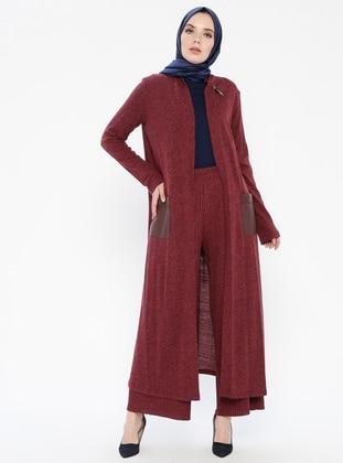 Maroon - Suit