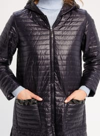 Navy Blue - Fully Lined - Puffer Jackets