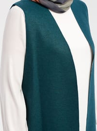 Emerald - Unlined - Wool Blend - Vest