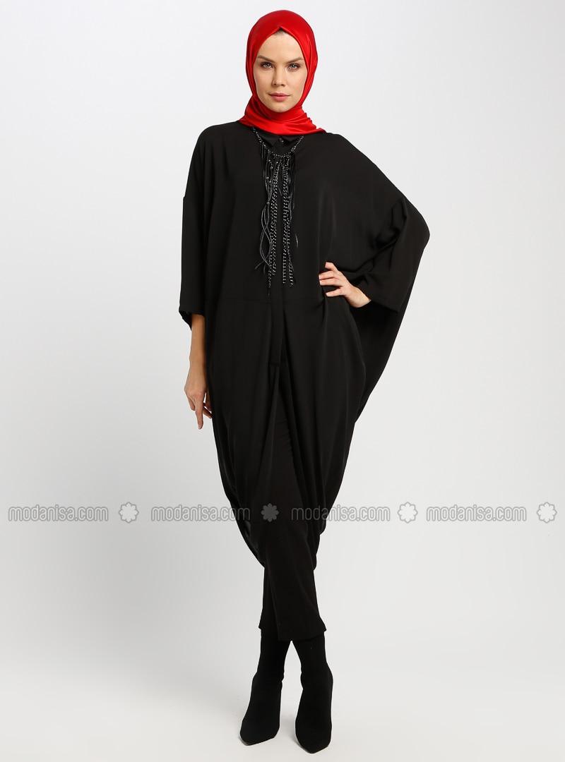 Black - Unlined - Dresses