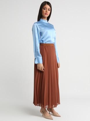Tan - Fully Lined - Skirt