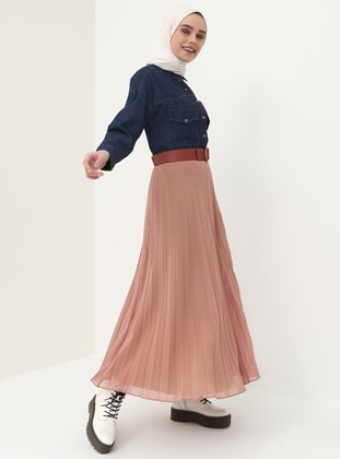 Salmon - Fully Lined - Skirt