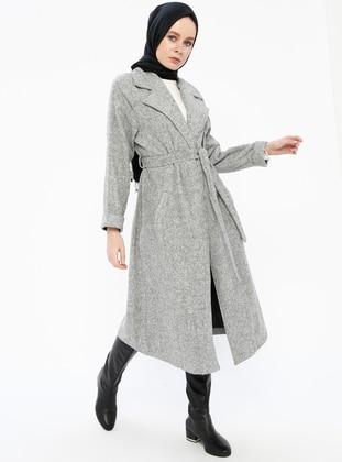 Gray - Unlined - Topcoat - Gzd
