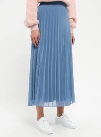 Indigo - Fully Lined - Skirt