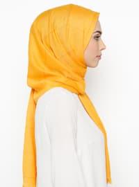 Yellow - Plaid - Shawl