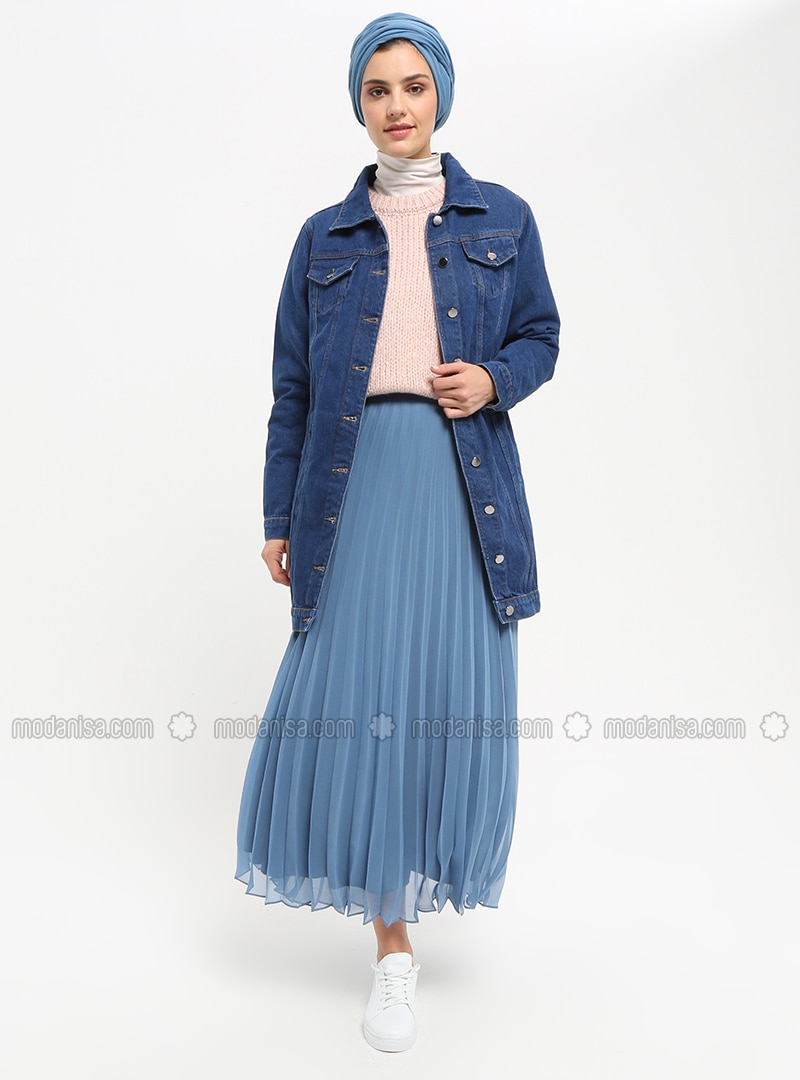 Indigo - Fully Lined - Skirt