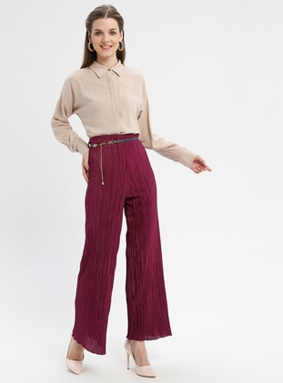 Purple - Cherry - Pants