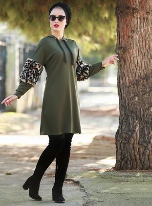 Khaki - Leopard - Tunic