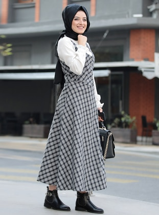 Black - Plaid - Fully Lined - Suit
