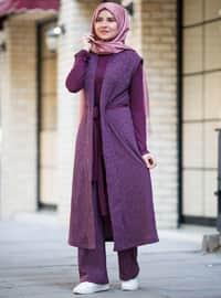 Purple - Suit