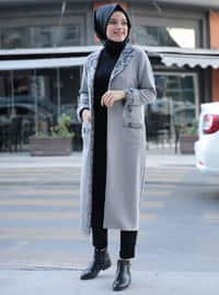 Gray - Unlined - Jacket