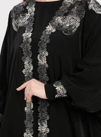Unlined - Black - Crew neck - Evening Suit
