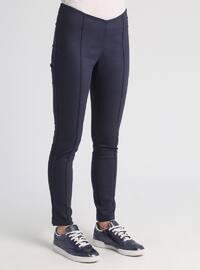Navy Blue - Legging