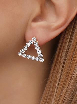 Gray - Earring