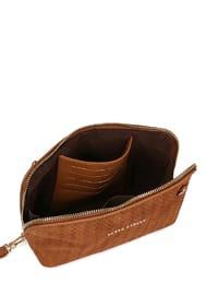 Tan - Clutch Bags / Handbags