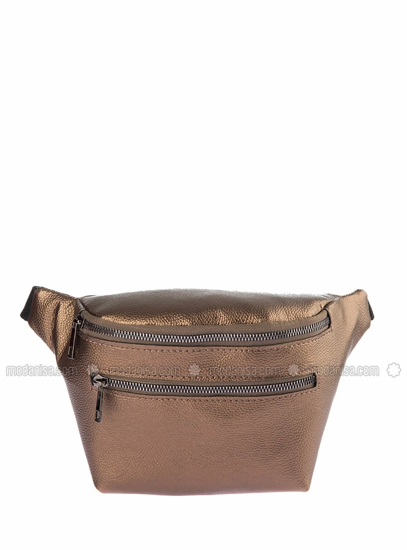 Silver Tone - Satchel - Bum Bag