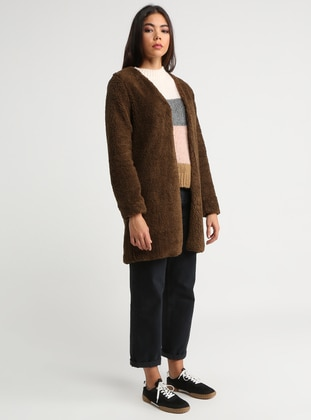 Brown - Fully Lined - Puffer Jackets