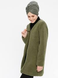 Khaki - Fully Lined - Puffer Jackets