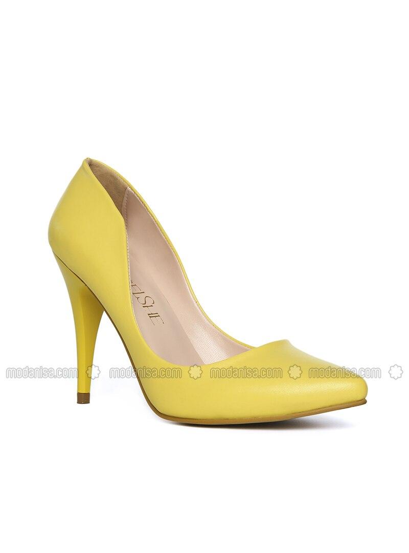 le meilleur emballage élégant et robuste grande collection Jaune - A talons - Chaussures à Talons