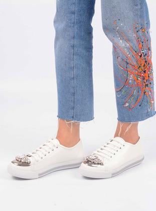 White - Casual - Shoes - Vocca Venice
