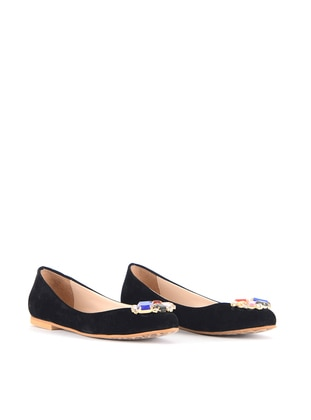Black - Flat - Flat Shoes - Vocca Venice