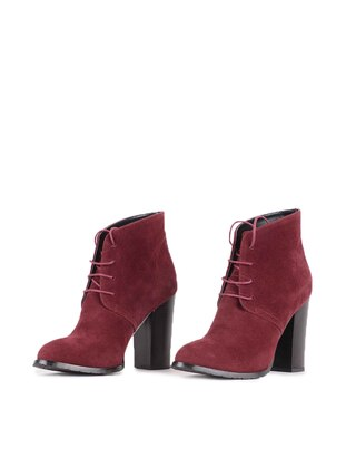 Maroon - Boot - Boots - Vocca Venice
