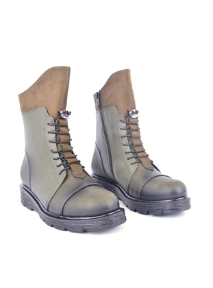 Khaki - Boot - Boots - Vocca Venice