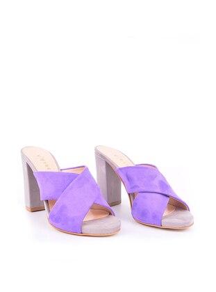 Purple - High Heel - Heels - Vocca Venice