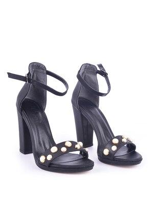 Black - High Heel - Heels - Vocca Venice