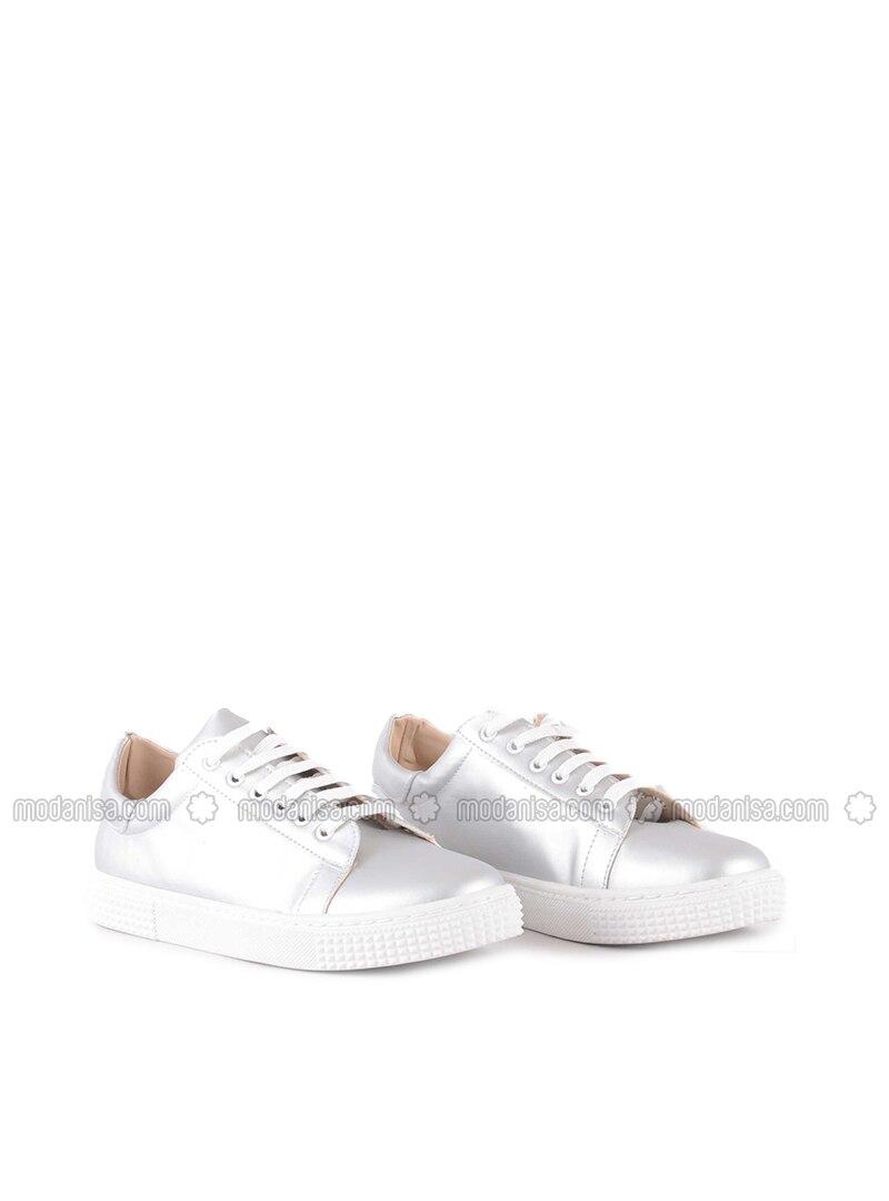 Silver tone - Casual - Shoes - Vocca Venice