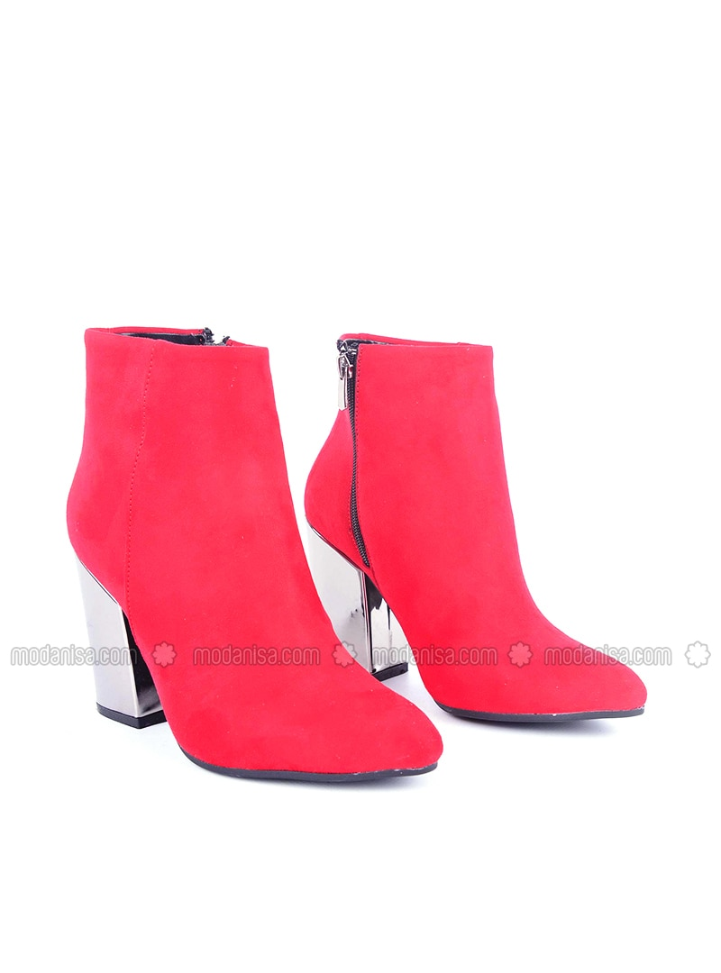 Red - Boot - Boots - Vocca Venice