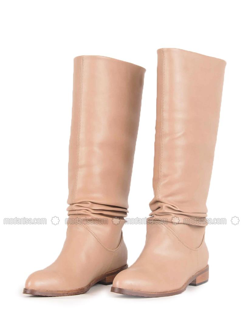 Cream - Boot - Boots - Vocca Venice