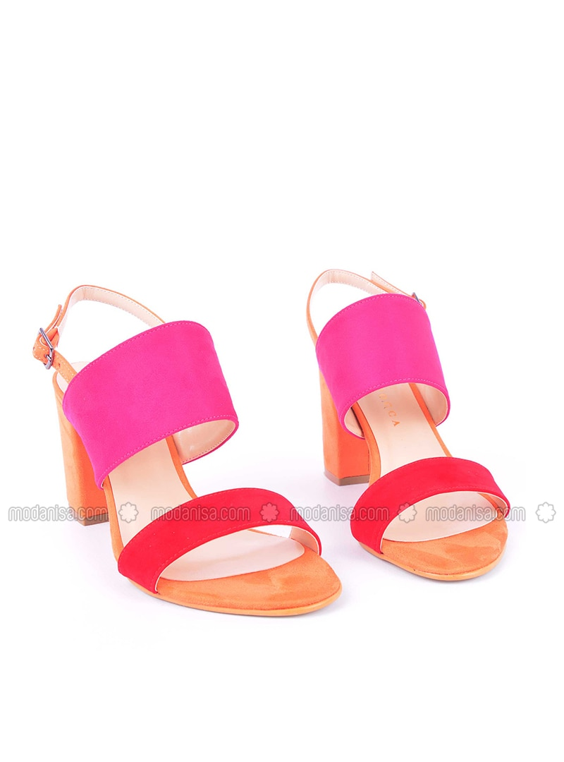 Pink - High Heel - Heels - Vocca Venice