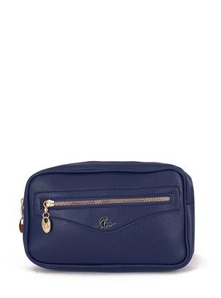 Navy Blue - Clutch - Satchel - Bum Bag