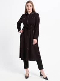 Plum - Unlined - Plus Size Coat