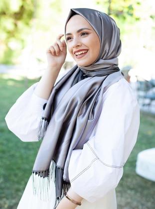 Golden tone - Rose - Plain - Shawl -  Eşarp & Şal