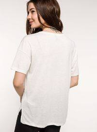 Beige - T-Shirt