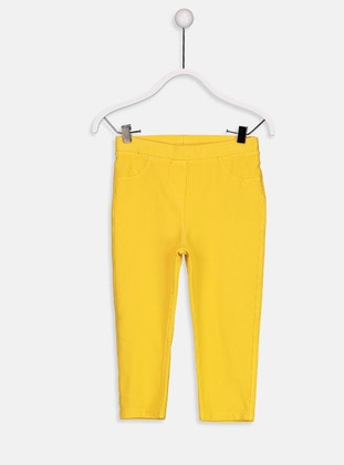 Yellow - Age 8-12 Pants