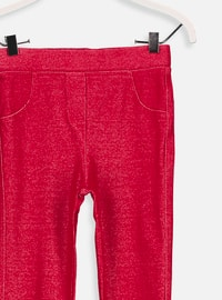 Red - Age 8-12 Pants