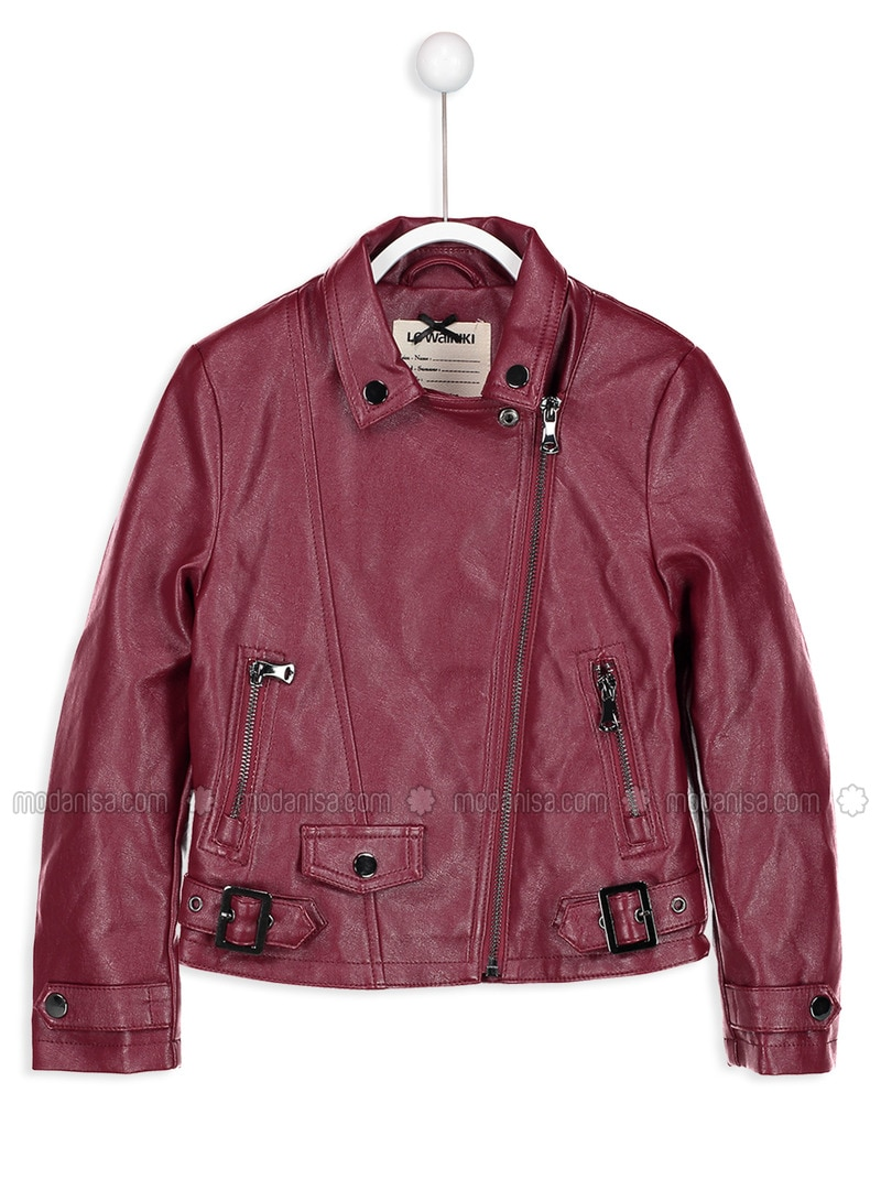 Maroon - Age 8-12 Outerwear