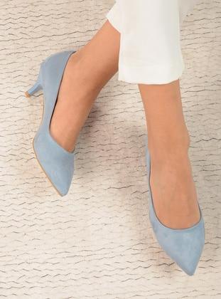 Blue - High Heel - Shoes