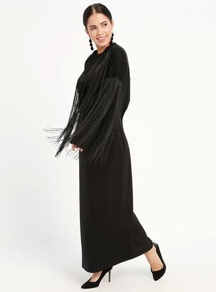 Fully Lined - Black - Crew neck - Fully Lined - Dresses